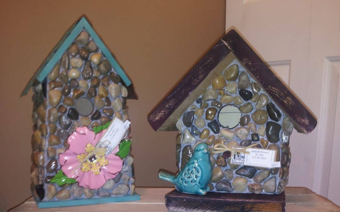 Birdhouses by Julie