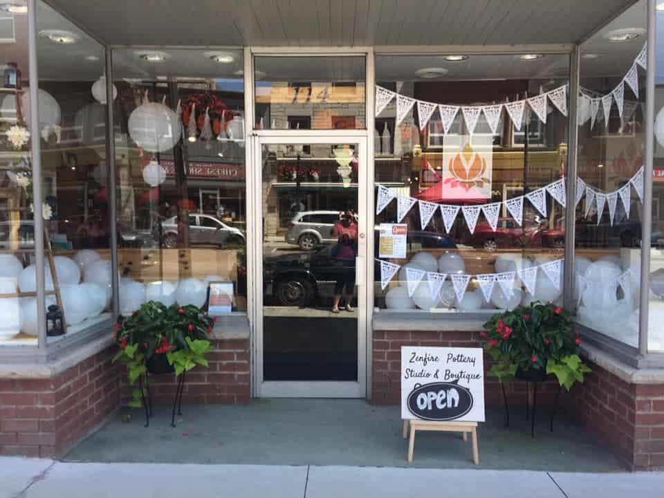 Zenfire Pottery Studio + Boutique